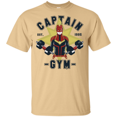 T-Shirts Vegas Gold / S Captain Gym T-Shirt