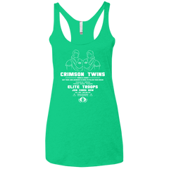 T-Shirts Envy / X-Small Career Opportunities Women's Triblend Racerback Tank
