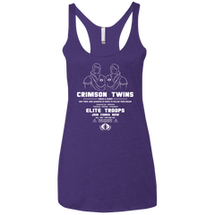 T-Shirts Purple Rush / X-Small Career Opportunities Women's Triblend Racerback Tank