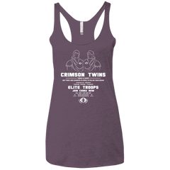 T-Shirts Vintage Purple / X-Small Career Opportunities Women's Triblend Racerback Tank