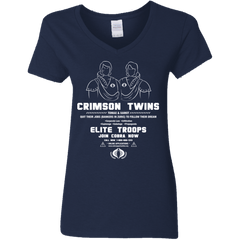 T-Shirts Navy / S Career Opportunities Women's V-Neck T-Shirt