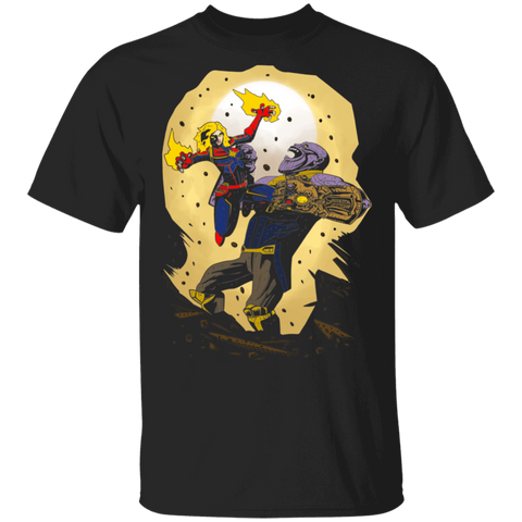Carol vs Thanos T-Shirt