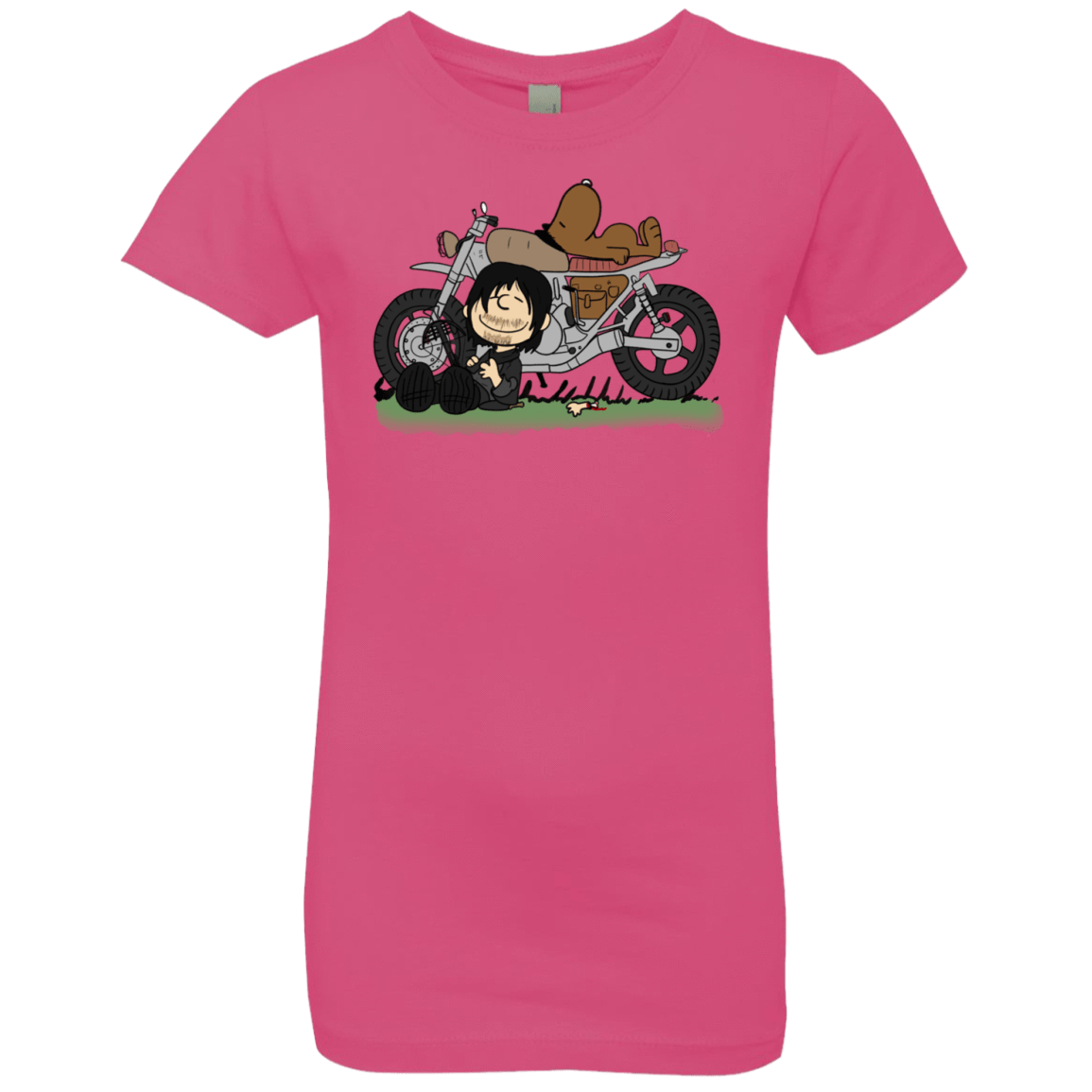 T-Shirts Hot Pink / YXS Charlie Dixon Girls Premium T-Shirt