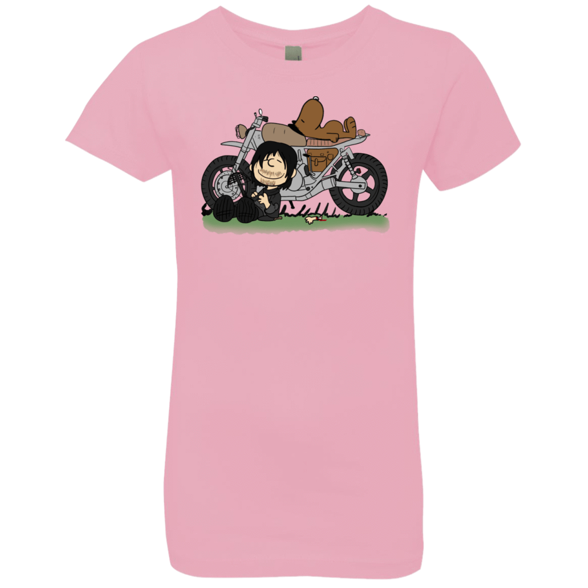 T-Shirts Light Pink / YXS Charlie Dixon Girls Premium T-Shirt