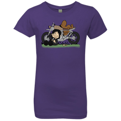 T-Shirts Purple Rush / YXS Charlie Dixon Girls Premium T-Shirt