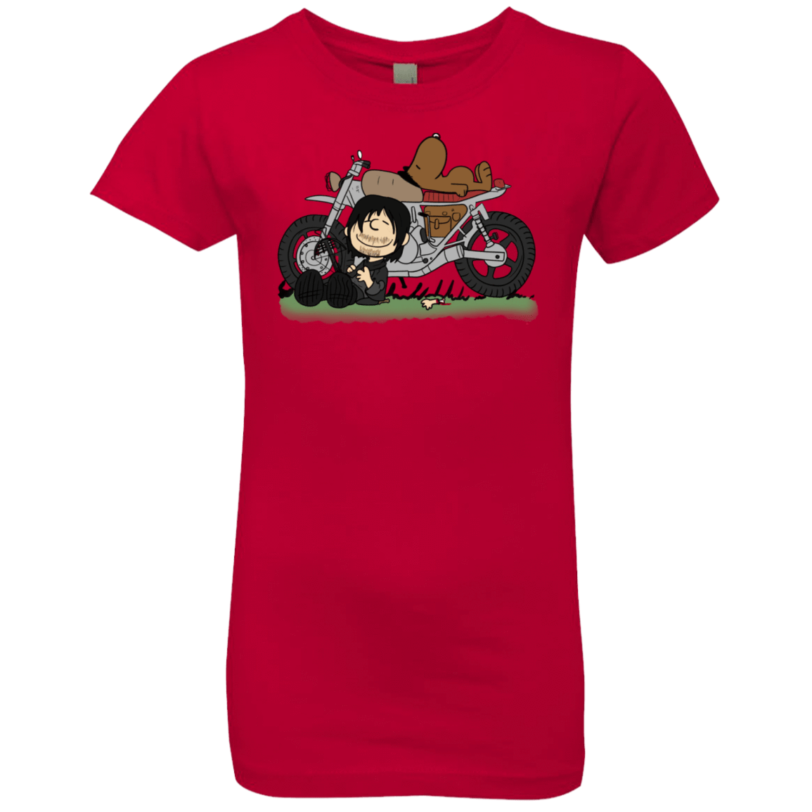 T-Shirts Red / YXS Charlie Dixon Girls Premium T-Shirt