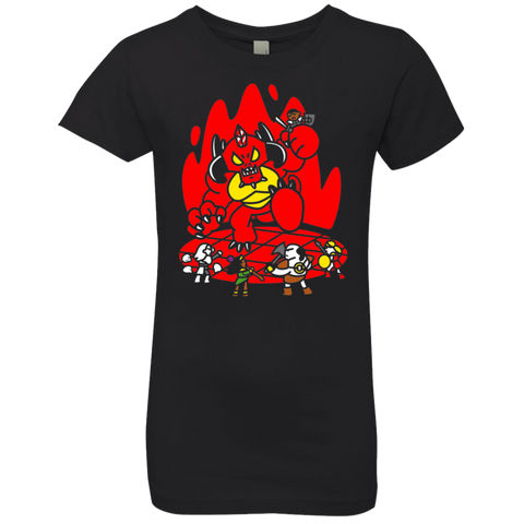 Chibi Battle Diablo Girls Premium T-Shirt
