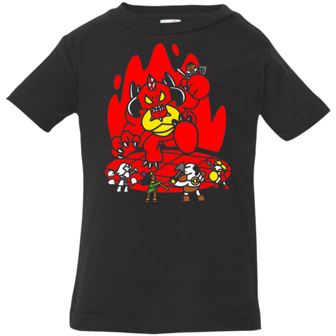T-Shirts Black / 6 Months Chibi Battle Diablo Infant Premium T-Shirt