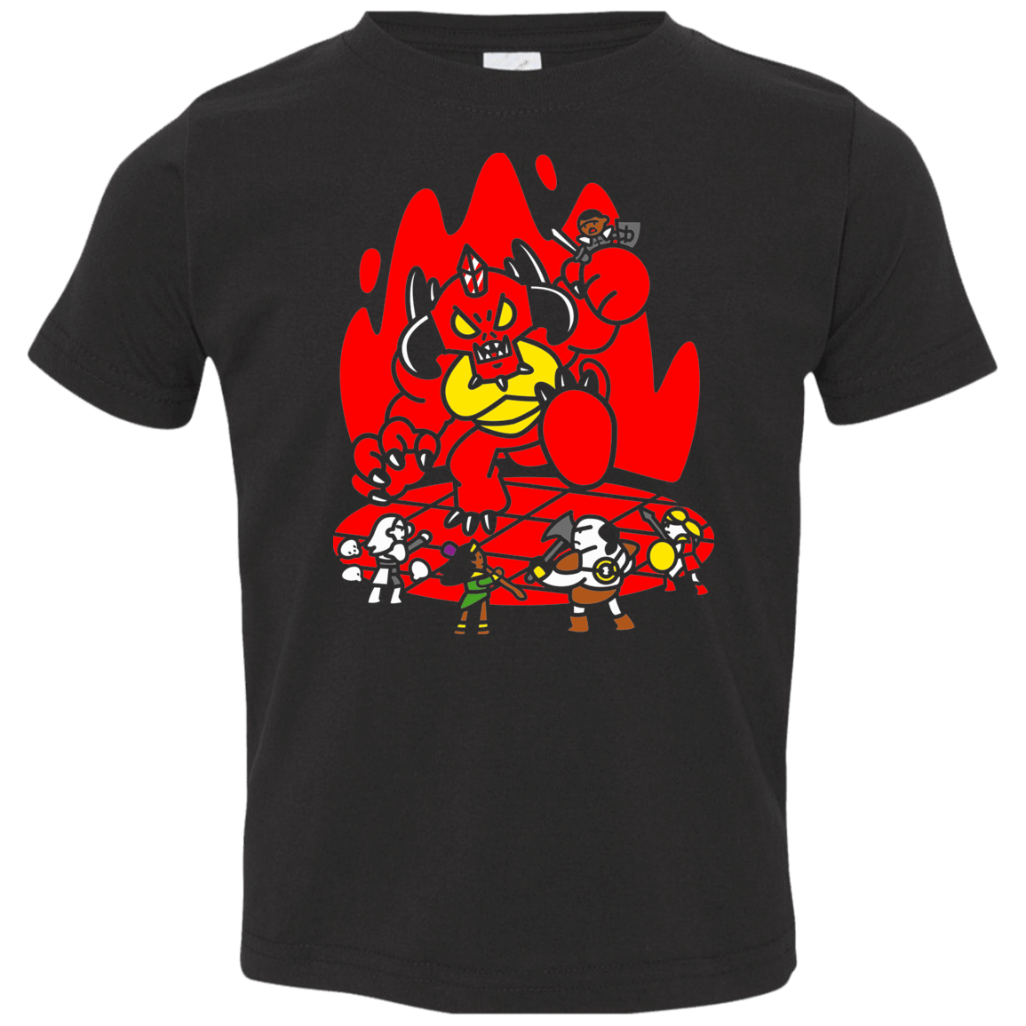 T-Shirts Black / 2T Chibi Battle Diablo Toddler Premium T-Shirt