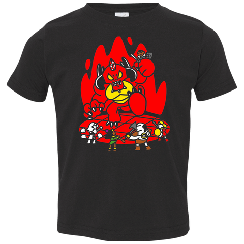 Chibi Battle Diablo Toddler Premium T-Shirt