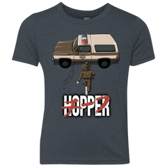Chief Hopper Youth Triblend T-Shirt