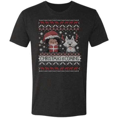 Christmas is Coming Men's Triblend T-Shirt