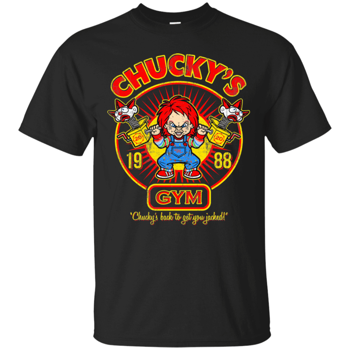 Chucky Gym Tee Good Guy T-Shirt