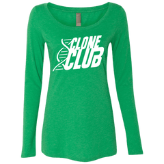 Clone Club Women's Triblend Long Sleeve Shirt