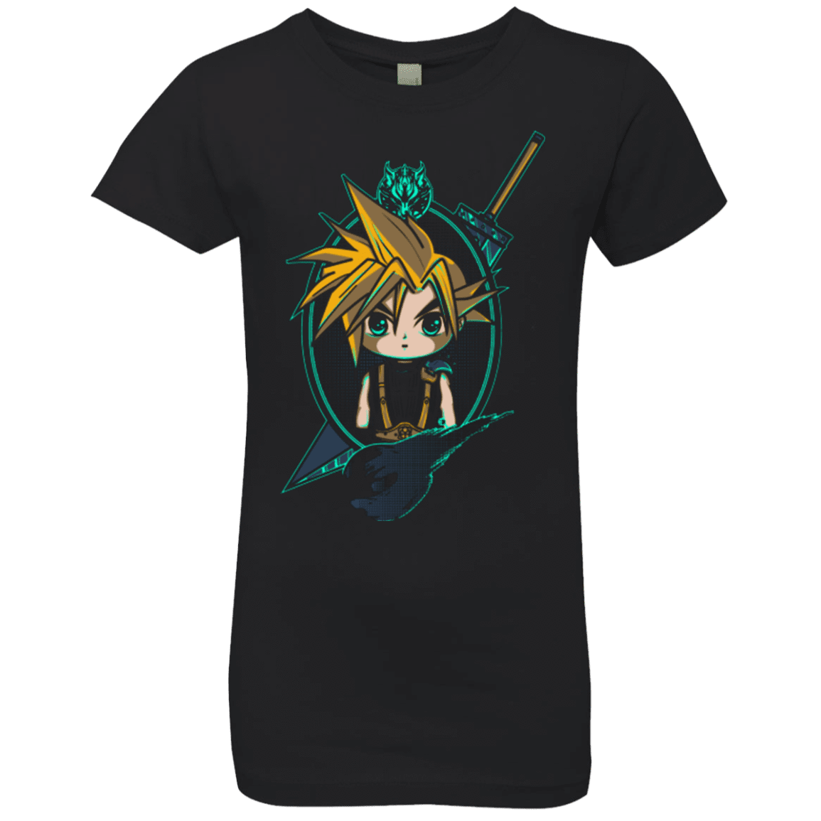 Cloud Portrait Girls Premium T-Shirt