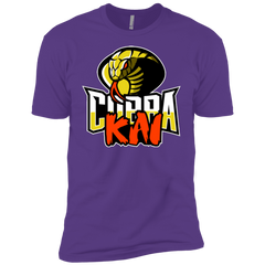 T-Shirts Purple Rush / YXS COBRA KAI Boys Premium T-Shirt
