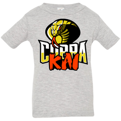 T-Shirts Heather Grey / 6 Months COBRA KAI Infant Premium T-Shirt