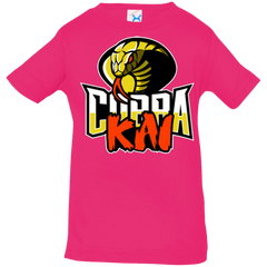 T-Shirts Hot Pink / 6 Months COBRA KAI Infant Premium T-Shirt
