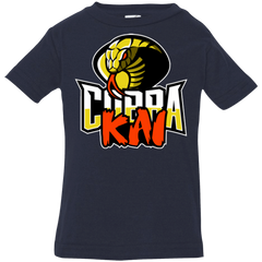 T-Shirts Navy / 6 Months COBRA KAI Infant Premium T-Shirt