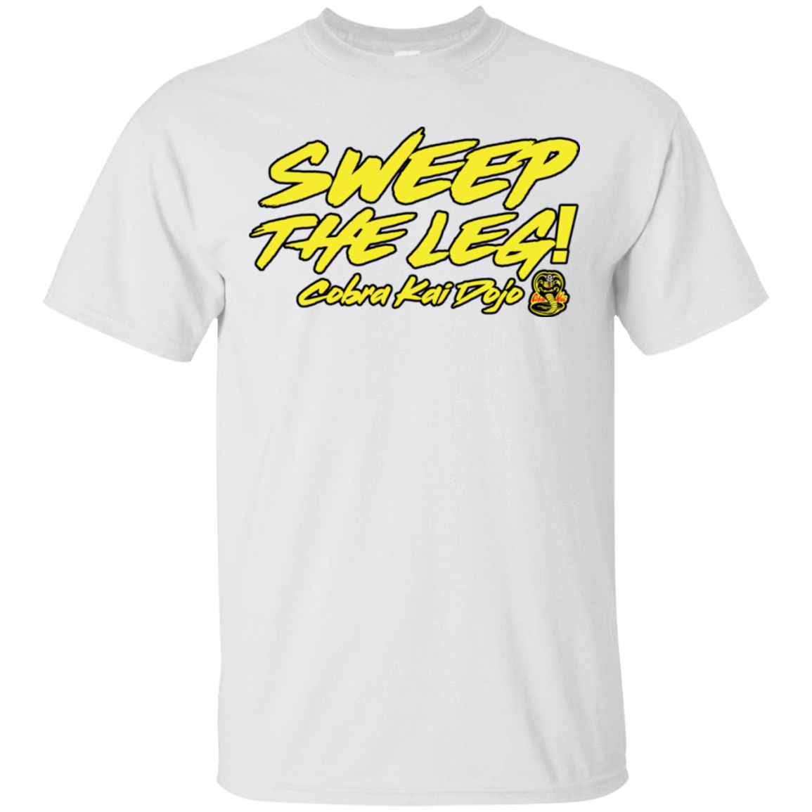 Cobra Kai Sweep the Leg T-Shirt