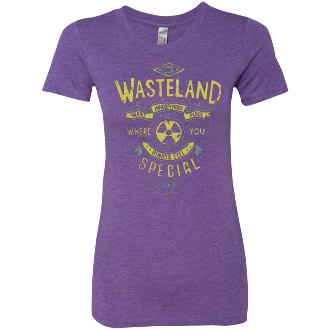 T-Shirts Purple Rush / Small Come to wasteland Women's Triblend T-Shirt