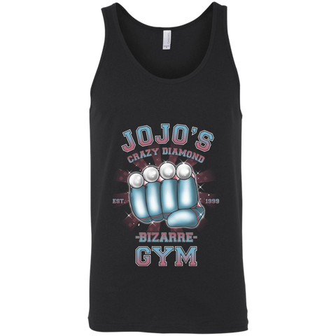 Crazy Diamond Gym Unisex Premium Tank Top