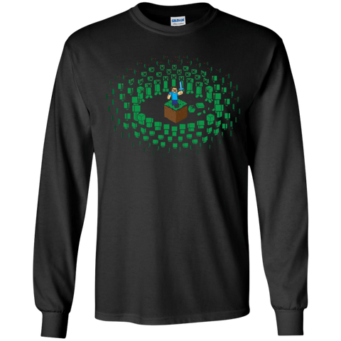 Creeper Mob Youth Long Sleeve T-Shirt