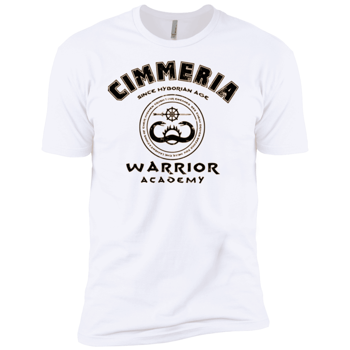 Crimmeria Warrior academy Boys Premium T-Shirt