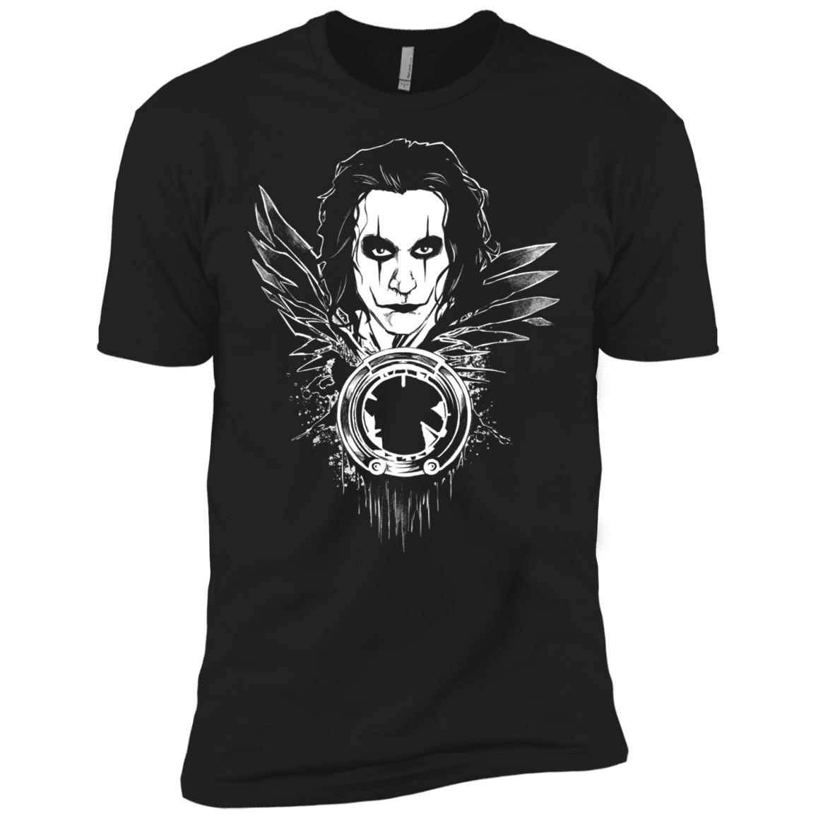 Crow Face Men's Premium T-Shirt