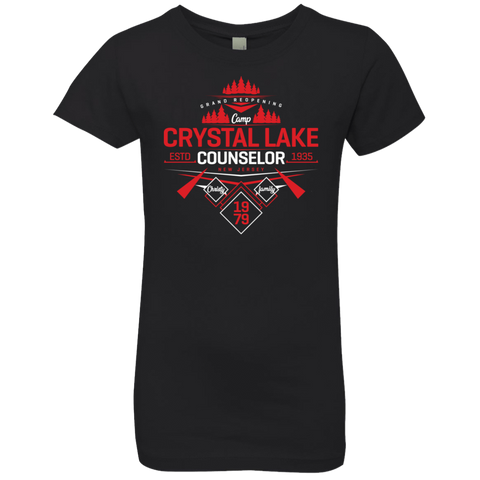 Crystal Lake Counselor Girls Premium T-Shirt
