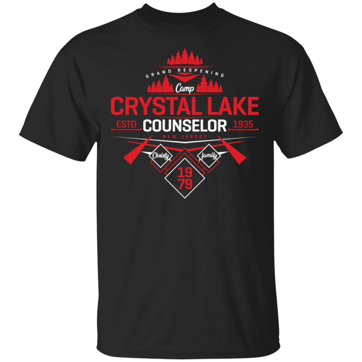 Crystal Lake Counselor T-Shirt