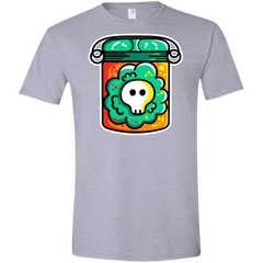 T-Shirts Sport Grey / X-Small Cute Skull In A Jar Men's Semi-Fitted Softstyle