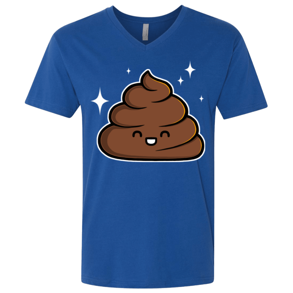 Cutie Poop Men's Premium V-Neck