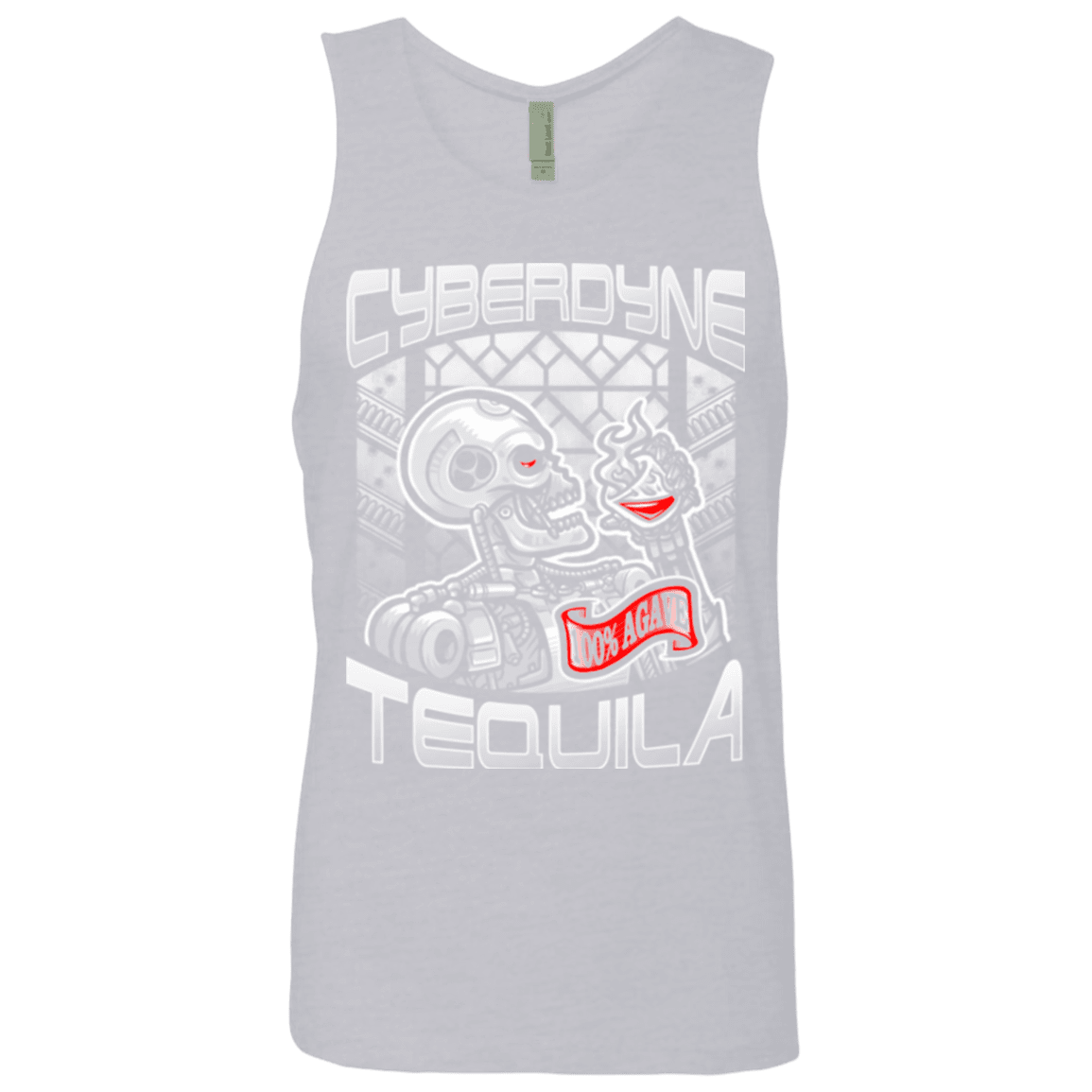 Cyberdyne Whiskey Men's Premium Tank Top