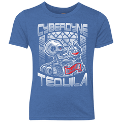Cyberdyne Whiskey Youth Triblend T-Shirt