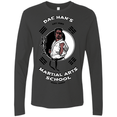 T-Shirts Heavy Metal / S Dae Hans Martial Arts Men's Premium Long Sleeve