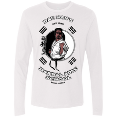 T-Shirts White / S Dae Hans Martial Arts Men's Premium Long Sleeve