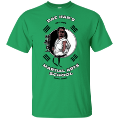 T-Shirts Irish Green / YXS Dae Hans Martial Arts Youth T-Shirt