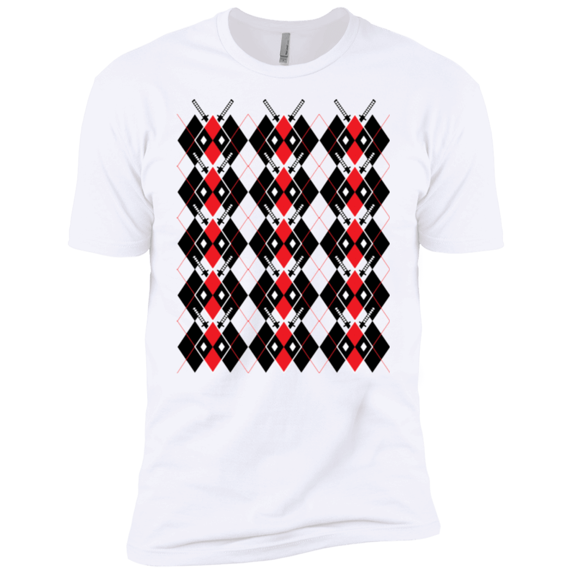 Deadpool Argyle Boys Premium T-Shirt