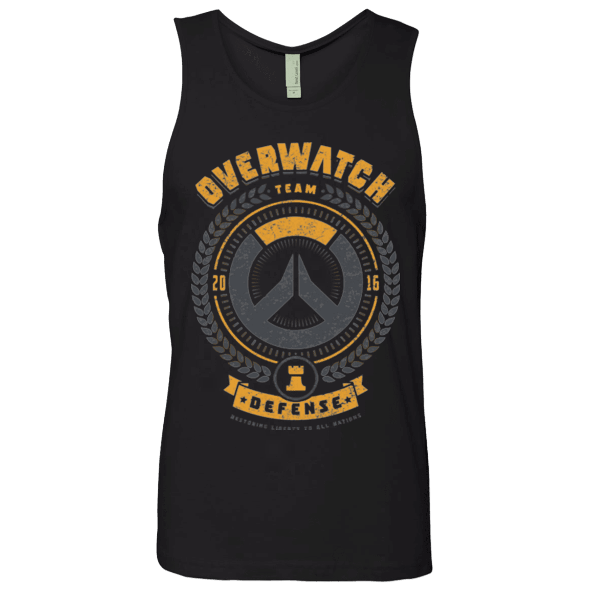 Defense Team Men's Premium Tank Top