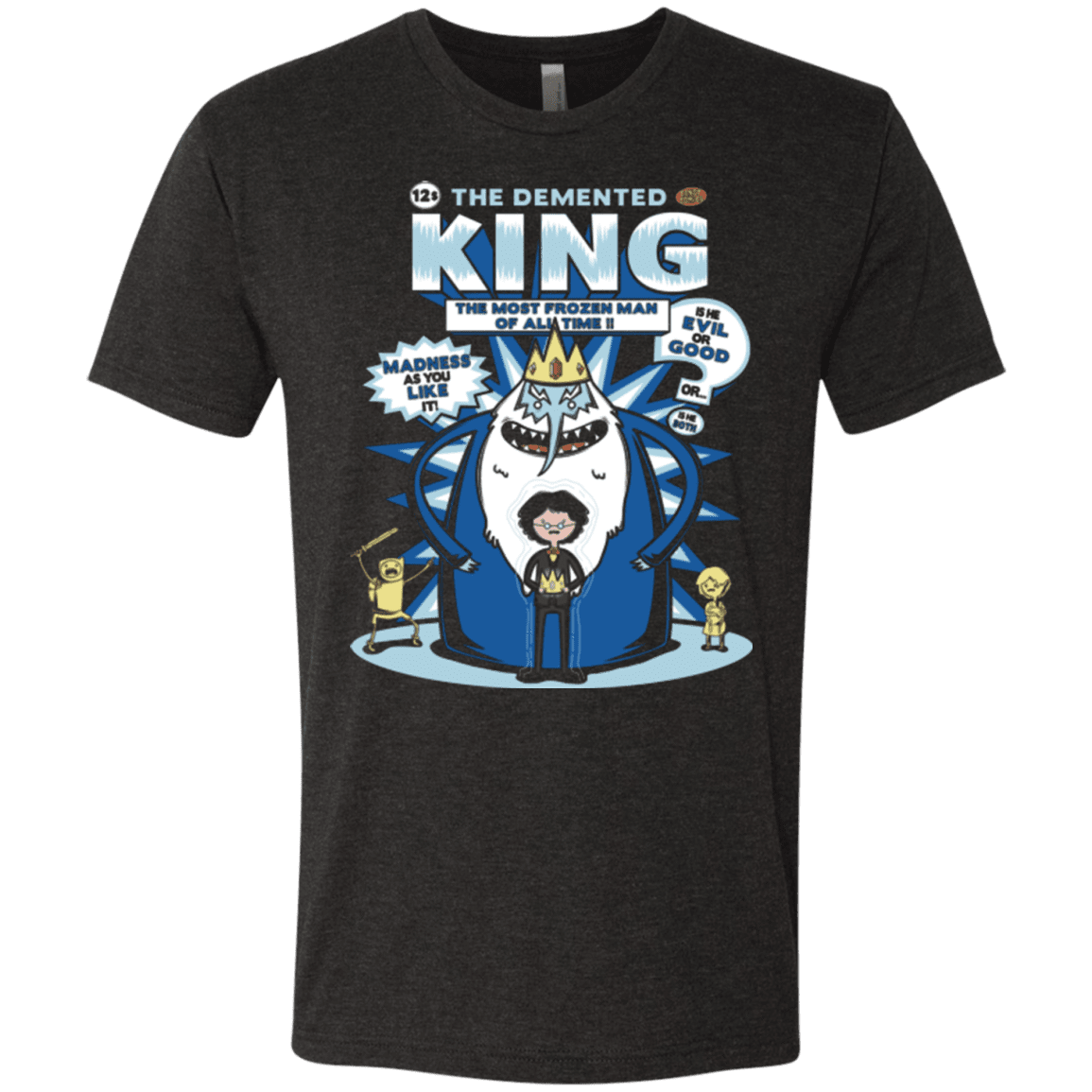 Demented king Men's Triblend T-Shirt
