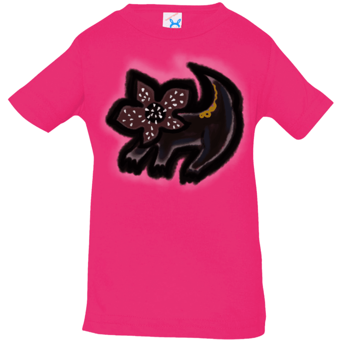 T-Shirts Hot Pink / 6 Months Demodog Rupestre Infant Premium T-Shirt