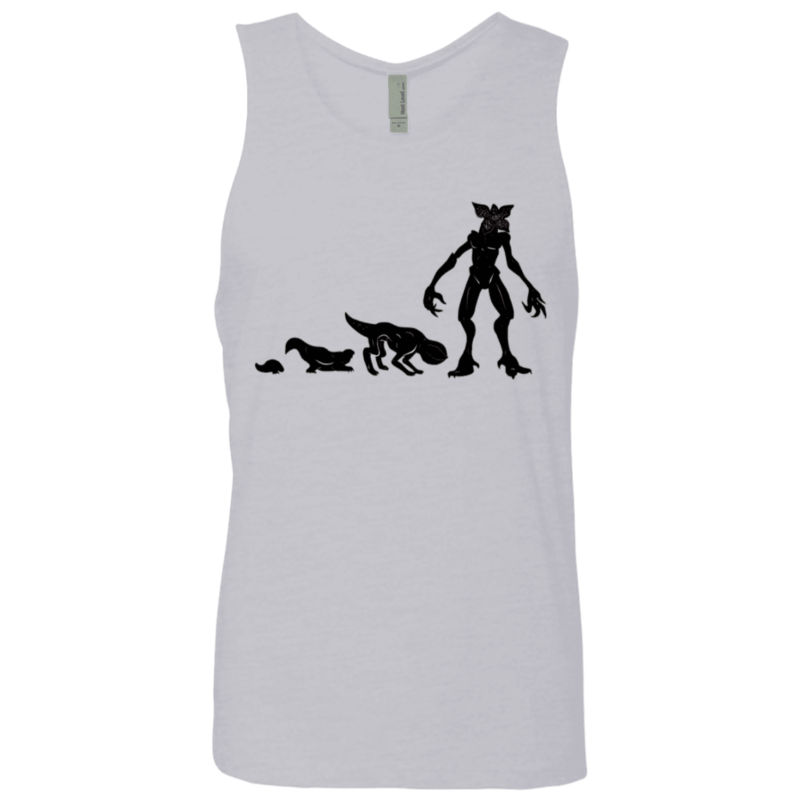 T-Shirts Heather Grey / S Demogorgon Evolution Men's Premium Tank Top