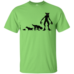 T-Shirts Lime / S Demogorgon Evolution T-Shirt