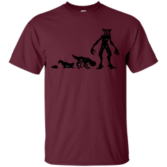 T-Shirts Maroon / S Demogorgon Evolution T-Shirt