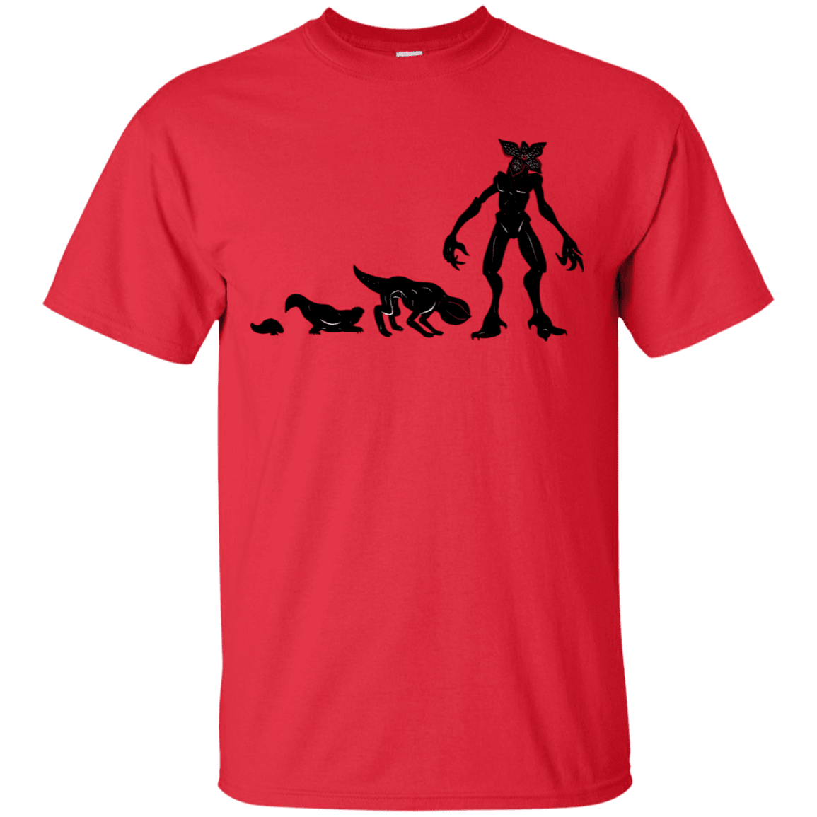 T-Shirts Red / S Demogorgon Evolution T-Shirt