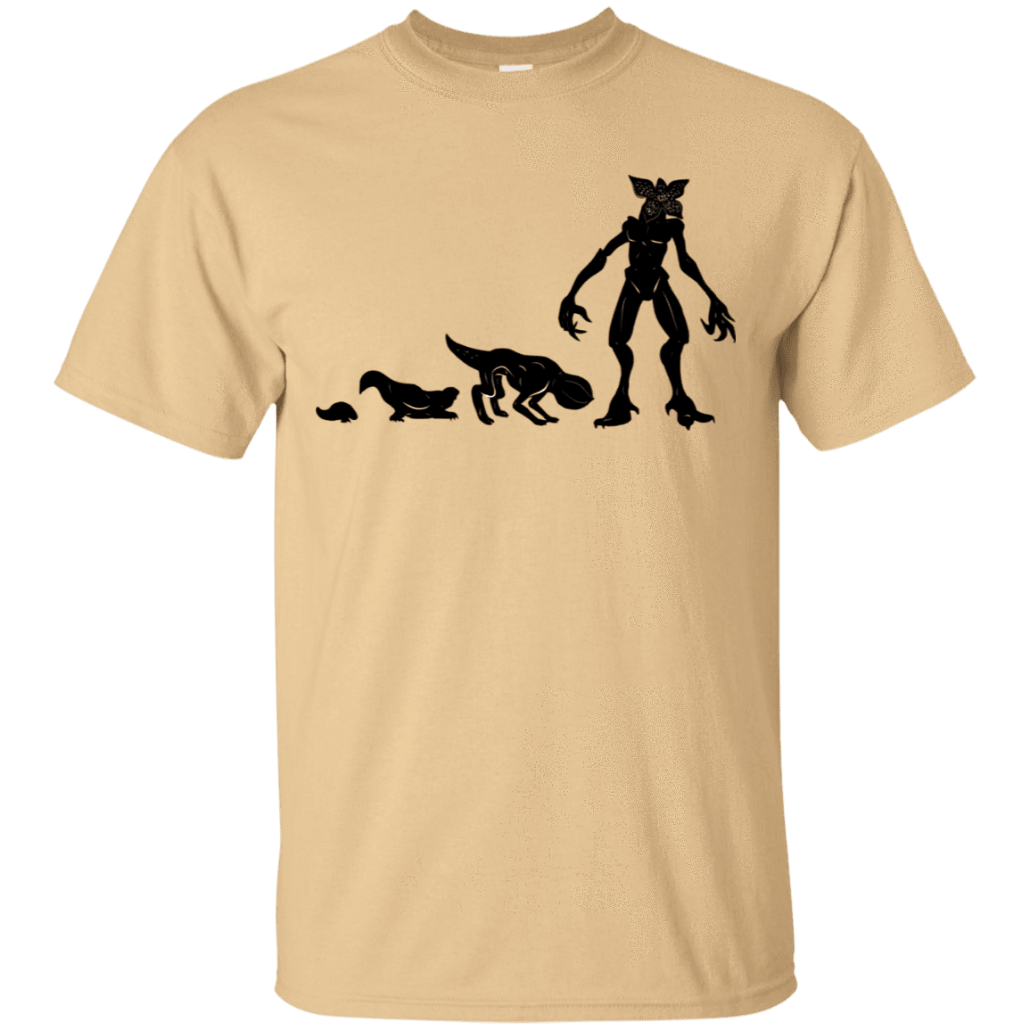 T-Shirts Vegas Gold / S Demogorgon Evolution T-Shirt
