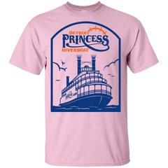 Detroit Princess Riverboat Kids T-Shirt