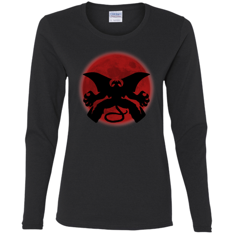 T-Shirts Black / S Devilman Awakens Women's Long Sleeve T-Shirt