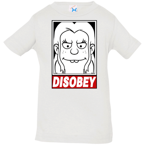 T-Shirts White / 6 Months Disobey Infant Premium T-Shirt